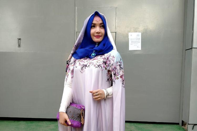 Artis Roro Fitria saat ditemui di Rutan Pondok Bambu, Jakarta Timur, Kamis (2/4/2020).