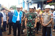 Panglima TNI Berharap GISTET Kembangan Berfungsi Normal Saat Banjir