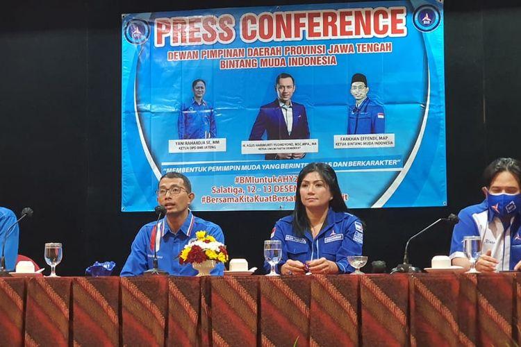Jumpa pers pelantikan DPD DMI Jawa Tengah
