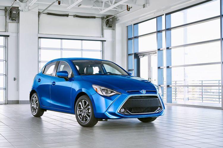 Toyota Yaris untuk pasar Amerika