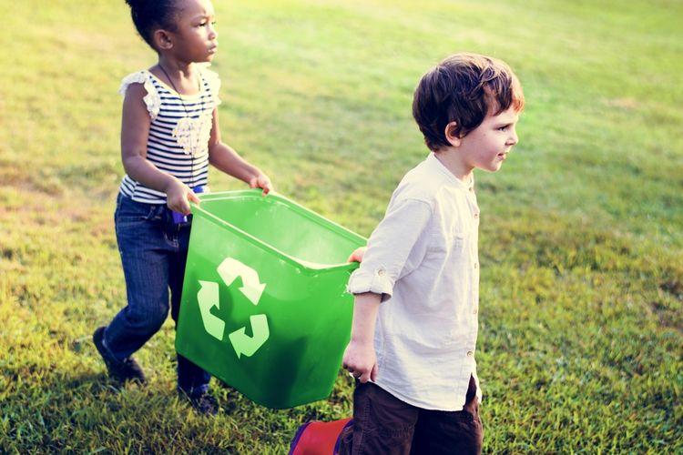 ilustrasi upaya menjaga lingkungan