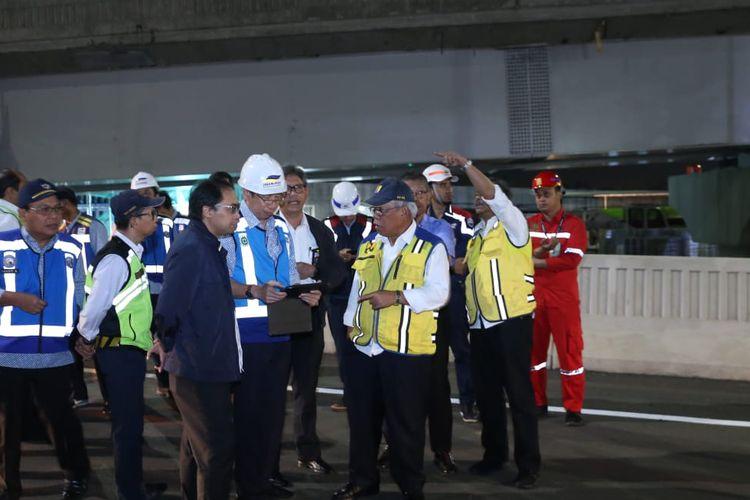 Menteri PUPR tinjau kesiapan Tol Layang Jakarta-Cikampek