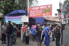 17 Orang Positif Covid-19, Kampung di Gandaria Selatan Di-lockdown