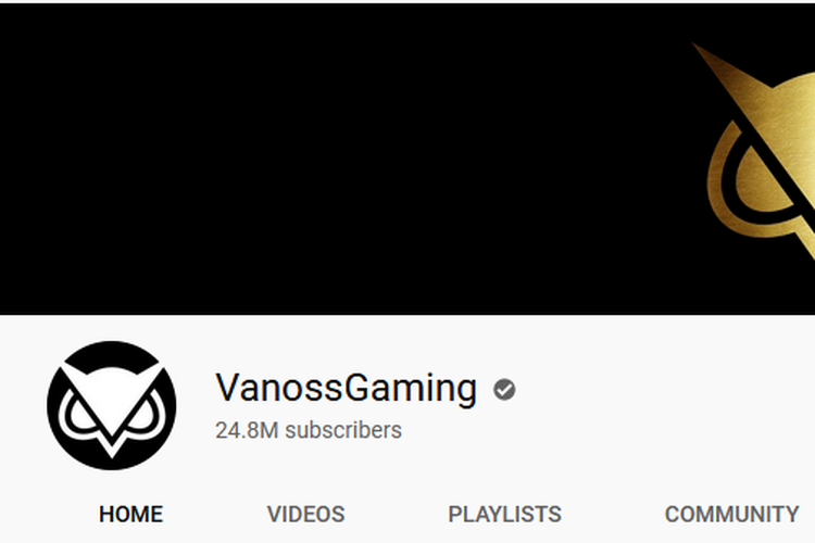 Akun Youtube VanossGaming
