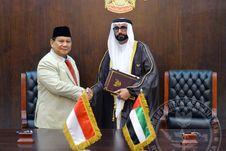 Perkuat Diplomasi dan Kerja Sama Pertahanan, Prabowo Kunjungi Uni Emirat Arab