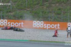 Kesedihan Johann Zarco Usai Buat Andrea Dovizioso Jatuh di MotoGP Catalunya