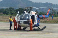 Helikopter Polisi Dikerahkan Angkut Material Listrik