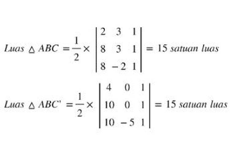 Matriks determinan