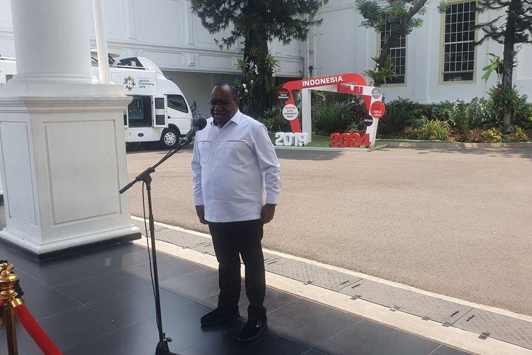 John Wempi Wetipo ditunjuk Jokowi jadi Wamen PUPR