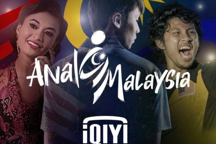 Sebuah poster dari platform layanan streaming iQIYI yang bertuliskan Anak Malaysia namun terbaca Anal Malaysia. Poster itu kini telah dihapus dari akun media sosial iQIYI dan situs web mereka. Mereka juga sudah meminta maaf atas kehebohan yang terjadi.