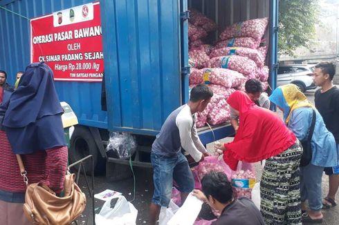 Kelangkaan Bawang Putih, Disperindag Jabar Gelar Operasi Pasar