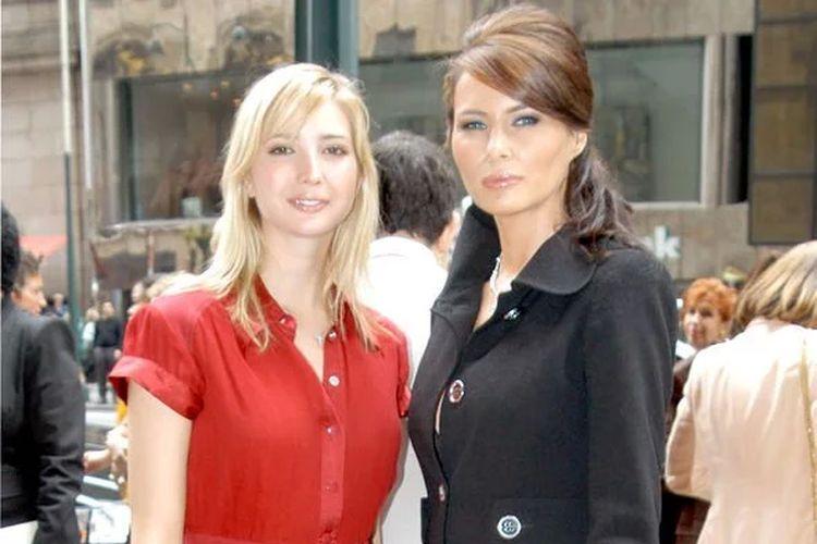 Ivanka dan Melania Trump.