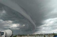 Viral di Medsos, Fenomena Awan Arcus Terlihat di Langit Bandara YIA Kulon Progo
