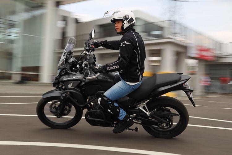 Pentingnya gunakan riding gear yang lengkap saat berkendara