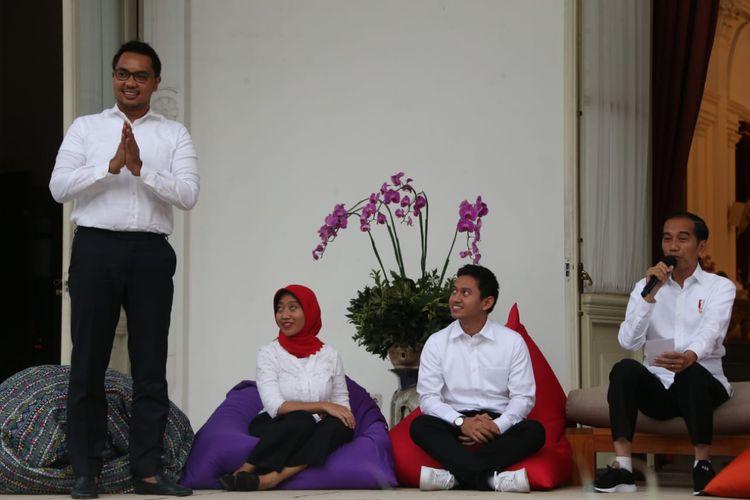 CEO Amartha Andi Taufan Garuda Putra ditunjuk jadi Staf Khusus Presiden oleh Presiden RI Joko Widodo
