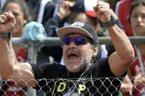 Diego Maradona Berpotensi Tangani Tim Kasta Kedua Liga Spanyol