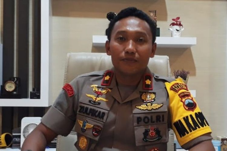 Waka Polres Klaten, Kompol Zulfikar Iskandar.