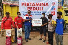 Bantu Masyarakat Terdampak Bencana, Pertamina Salurkan Bantuan Hampir Rp 1 Miliar