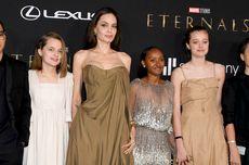 Gaun Lama Angelina Jolie Dipakai Ulang Anaknya di Premiere Eternals