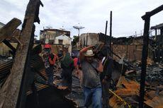Kebakaran di Kawasan Padat Penduduk Samarinda, 40 Rumah Habis Terbakar