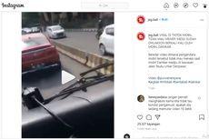 Mercedes-Benz Halangi Laju Damkar, Pengemudi Bisa Kena Denda