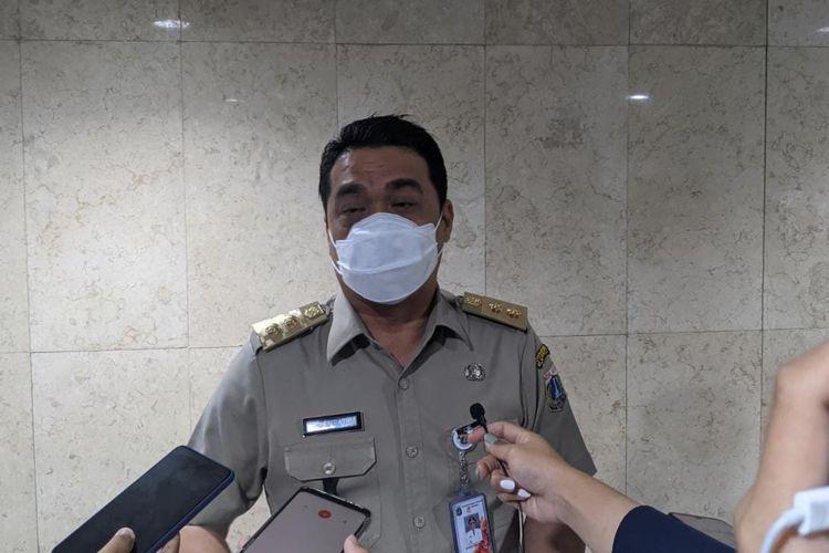 Wakil Gubernur DKI Jakarta Ahmad Riza Patria saat ditemui di Balai Kota DKI Jakarta Jalan Medan Merdeka Selatan Gambir Jakarta Pusat, Selasa (2/3/2021)