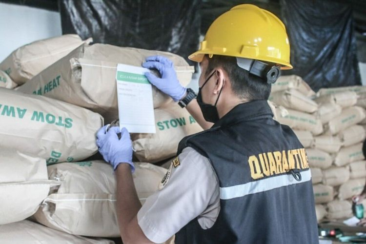 Kelapa parut yang merupakan salah satu produk unggulan ekspor asal Sulut