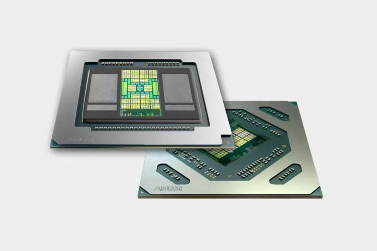 Ilustrasi chip AMD.