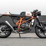 KTM Duke 690 Cafe Racer, Mengejar Kualitas Pabrikan