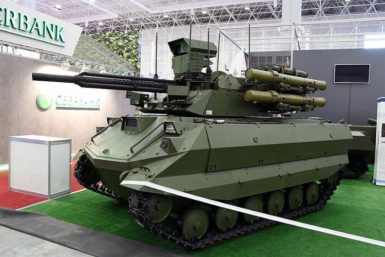 Prototipe tank robot buatan Rusia, Uran-9