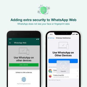 WhatsApp menambah fitur keamanan baru ketik pengguna akan menyinkronkan akun WhatsApp ke perangkat baru.