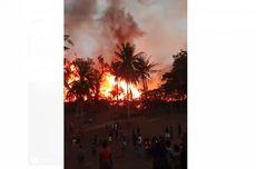 22 Rumah Adat Sumba Terbakar karena Faktor Alam, Ini Kronologinya