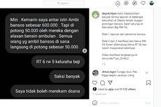 Kabar Viral Bansos Tunai Dikutip untuk Servis Ambulans Lingkungan, Ketua RW di Depok Kembalikan Seluruh Pungutan