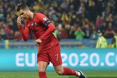 Ukraina Vs Portugal, Gol ke-700 Ronaldo Tak Mampu Selamatkan Selecao