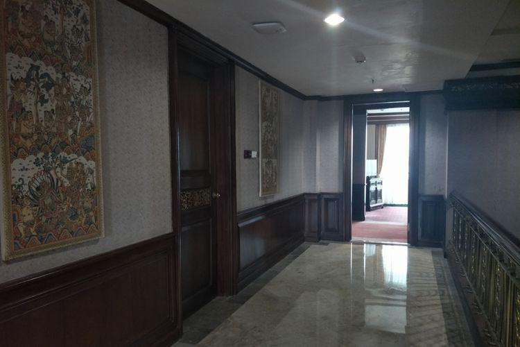 Kamar yang pernah ditempati Bung Karno di Grand Inna Bali Beach, Sanur, Denpasar, Bali.