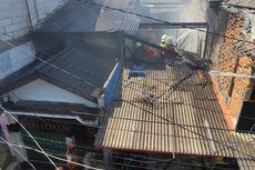 Rumah 2 Lantai Terbakar di Koja, 11 Mobil Damkar Diterjunkan