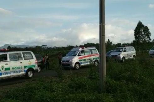 7 Ambulans Konvoi Jemput 33 Santri yang Positif Corona di Tasikmalaya