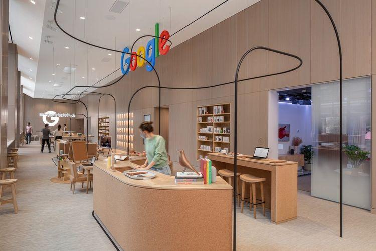 Toko fisik, Google Store