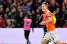 Prediksi Line Up Belanda Vs Austria, Matthijs de Ligt Main