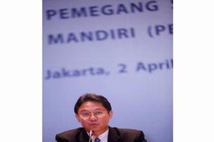 Budi Gunadi Sadikin  Direktur Utama Bank Mandiri