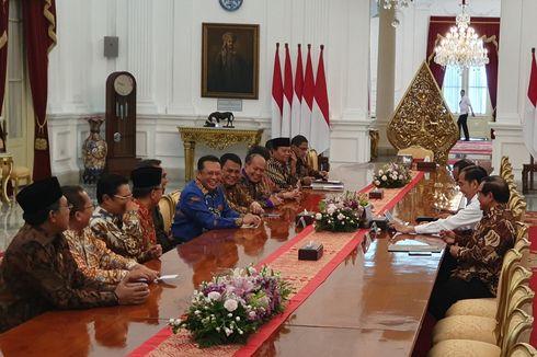 Temui Jokowi, Pimpinan MPR Konsultasi soal Acara Pelantikan