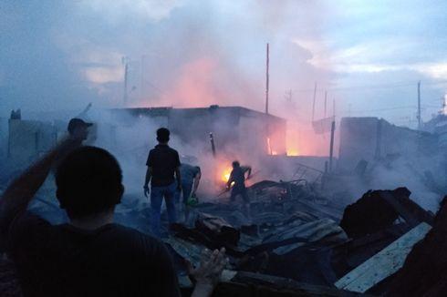Puluhan Rumah di Medan Terbakar, Warga Bingung Tinggal di Mana