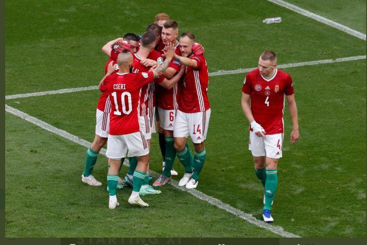 Euro 2020: Euforia Hongaria Halaman all - Kompas.com