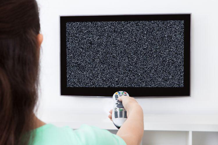 ilustrasi televisi