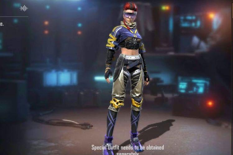 Xayne, karakter baru dalam game Free Fire