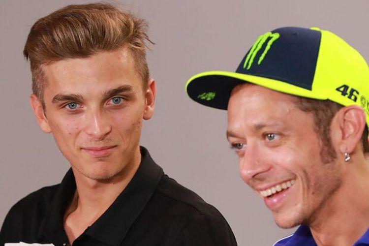 Luca Marini dan Valentino Rossi