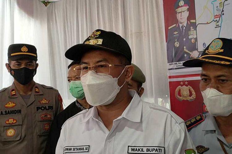 Wakil Bupati Sumedang Erwan Setiawan. AAM AMINULLAH/KOMPAS.com