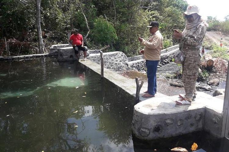 Dam parit di Bima, Nusa Tenggara Barat (NTB).
