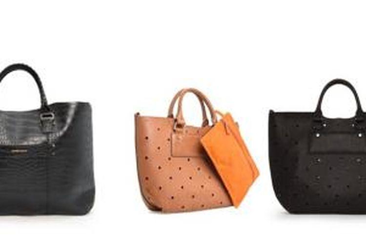 Tiga  pilihan gaya tas tangan dari Mango