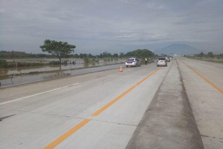 Kondisi Jalan Tol Caruban-Madiun.